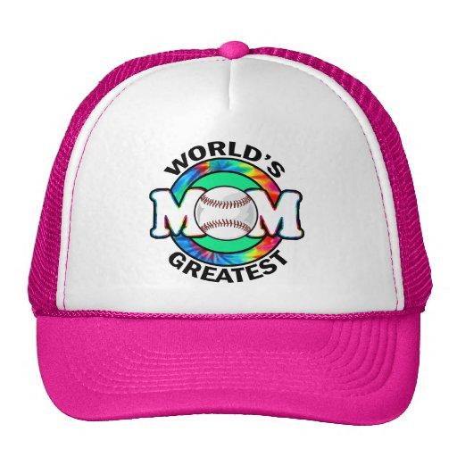 World's Greatest Mom; Softball Trucker Hats