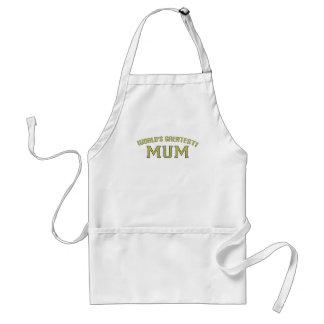 World's Greatest Mum! Adult Apron