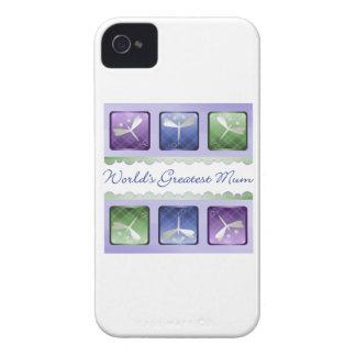 World's Greatest Mum (dragonflies) Blackberry Bold Covers