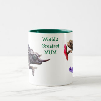 World's Greatest Mum Grouchy Chameleon Mug