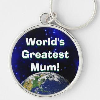 World's Greatest Mum! Keychain