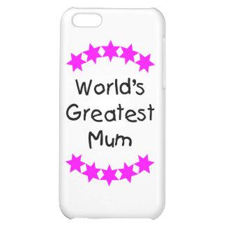 World's Greatest Mum (pink stars) iPhone 5C Cases