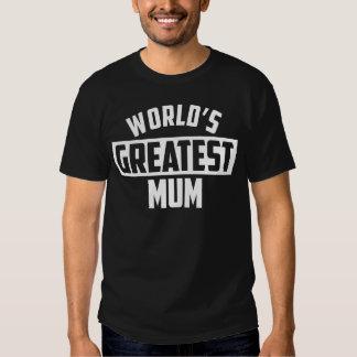 World's Greatest Mum T Shirts