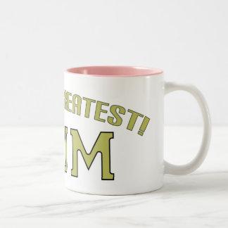 World's Greatest Mum! Two-Tone Mug
