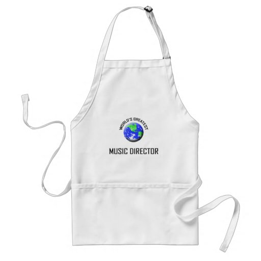World's Greatest Music Director Aprons