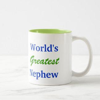 World's greatest nephew mug