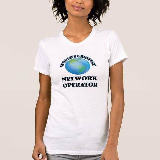 World's Greatest Network Operator Tshirt