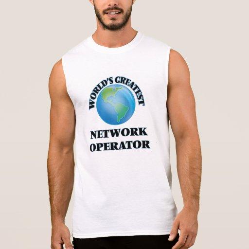 World's Greatest Network Operator Sleeveless Tees