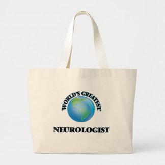 World's Greatest Neurologist Canvas Bag
