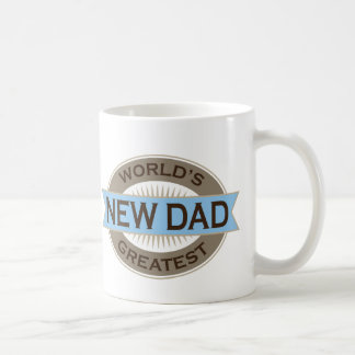 Worlds Greatest New Dad Basic White Mug