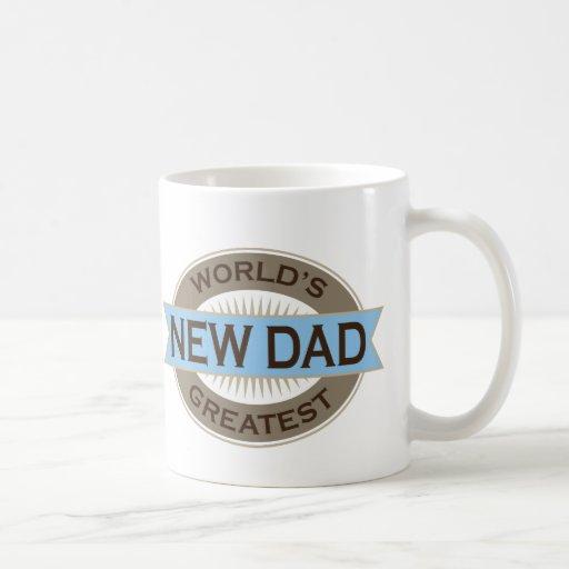 Worlds Greatest New Dad Coffee Mug