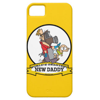 WORLDS GREATEST NEW DADDY MEN CARTOON CASE FOR THE iPhone 5