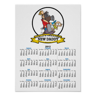WORLDS GREATEST NEW DADDY MEN CARTOON POSTERS