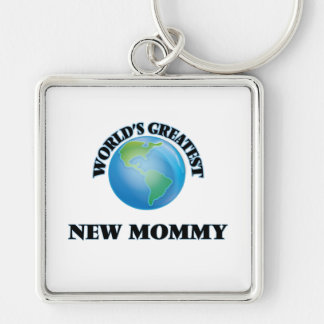 World's Greatest New Mommy Key Chain