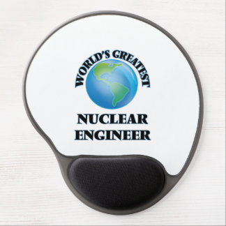 World's Greatest Nuclear Engineer Gel Mouse Mat