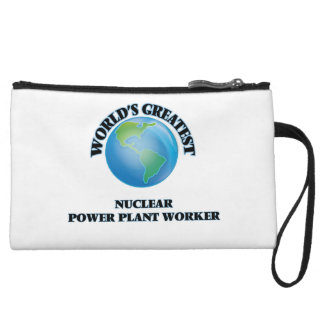 World's Greatest Nuclear Power Plant Worker Wristlet Clutches