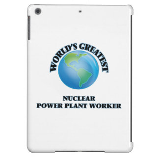 World's Greatest Nuclear Power Plant Worker iPad Air Case