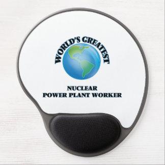 World's Greatest Nuclear Power Plant Worker Gel Mousepad