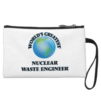 World's Greatest Nuclear Waste Engineer Wristlet Clutches