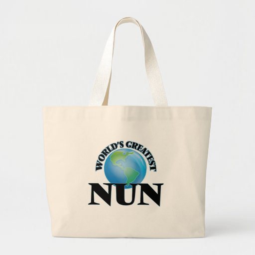 World's Greatest Nun Bags