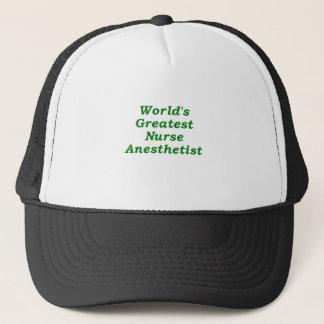 Worlds Greatest Nurse Anesthetist Trucker Hat