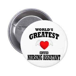World's Greatest Nursing Assistant Buttons