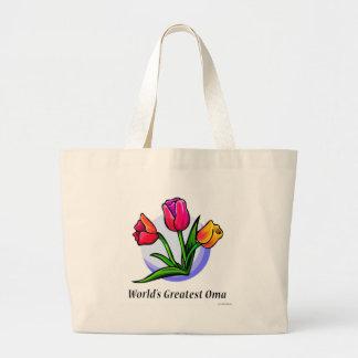 World's Greatest Oma Jumbo Tote Bag