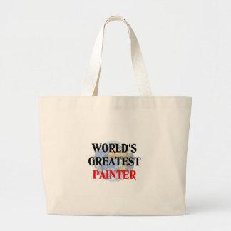 World's Greatest Painter Jumbo Tote Bag
