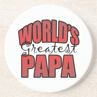Worlds Greatest Papa Coaster