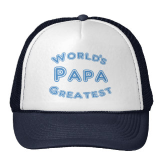 Worlds Greatest Papa Hat