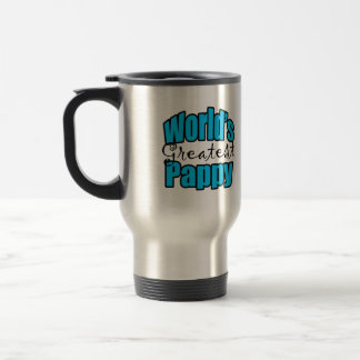 Worlds Greatest Pappy Travel Mug