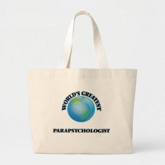 World's Greatest Parapsychologist Canvas Bag