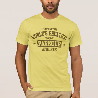 World's Greatest Parkour Athlete T-Shirt