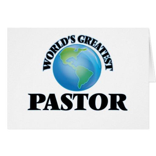 World's Greatest Pastor Card