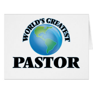 World's Greatest Pastor Cards