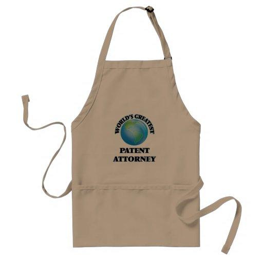 World's Greatest Patent Attorney Apron
