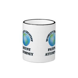 World's Greatest Patent Attorney Mugs