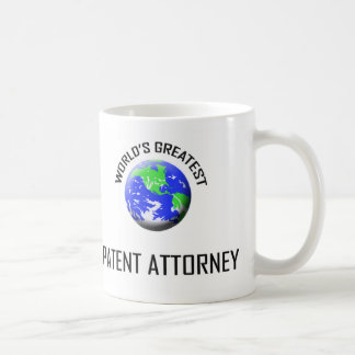 World's Greatest Patent Attorney Coffee Mugs