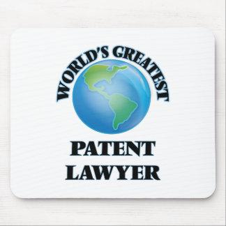 World's Greatest Patent Lawyer Mousepad