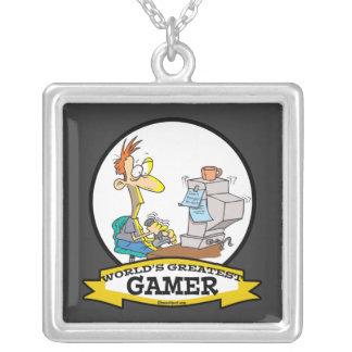 WORLDS GREATEST PC GAMER TEEN CARTOON JEWELRY