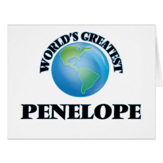 World's Greatest Penelope Greeting Cards