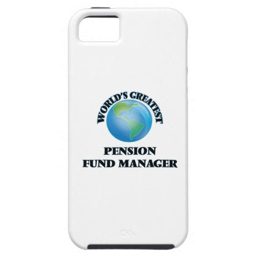 World's Greatest Pension Fund Manager iPhone 5/5S Case
