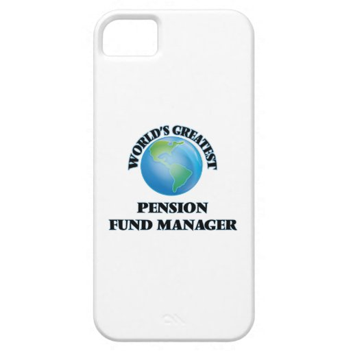 World's Greatest Pension Fund Manager iPhone 5/5S Cover