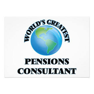 World's Greatest Pensions Consultant Cards
