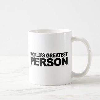 World's Greatest Person Mug