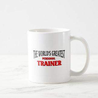 World's Greatest Personal Trainer Basic White Mug