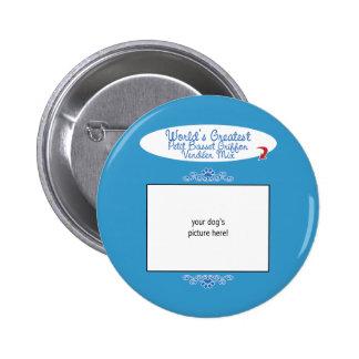 Worlds Greatest Petit Basset Griffon Vendéen Mix Pins