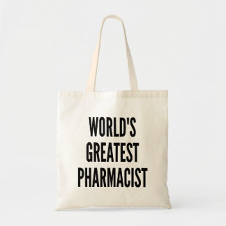 Worlds Greatest Pharmacist Budget Tote Bag