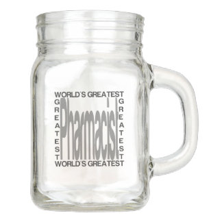 Worlds Greatest Pharmacist Mason Jar