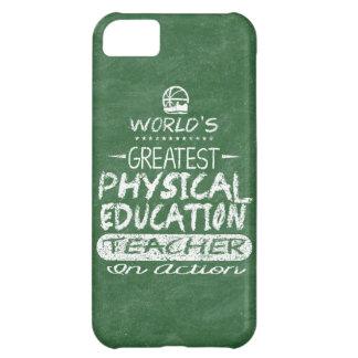 World's Greatest Physical Education PE Teacher iPhone 5C Case